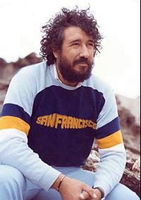 Durante un rodaje de Magefesa en Los Monegros. 1982.
