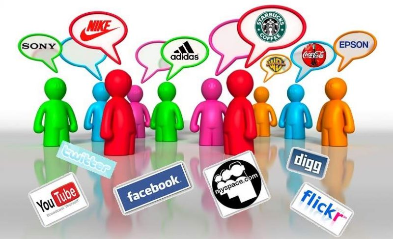 social media marca brand 800x486 - Productos, marcas y consumidores.